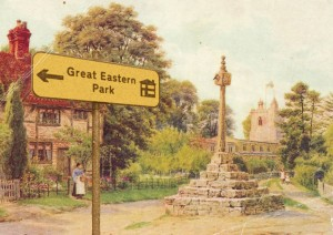 East Hagbourne postcard 05
